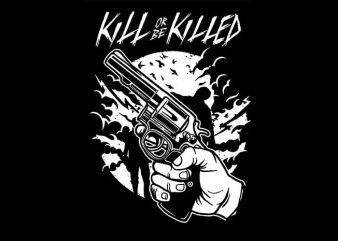 Zombie Shooter t shirt design