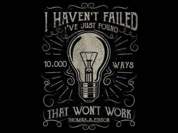 10000 Ways T shirt design