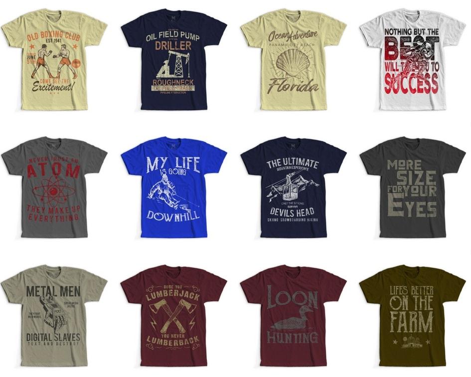 4 - 100 Retro Vintage T-Shirt Designs buy t shirt design