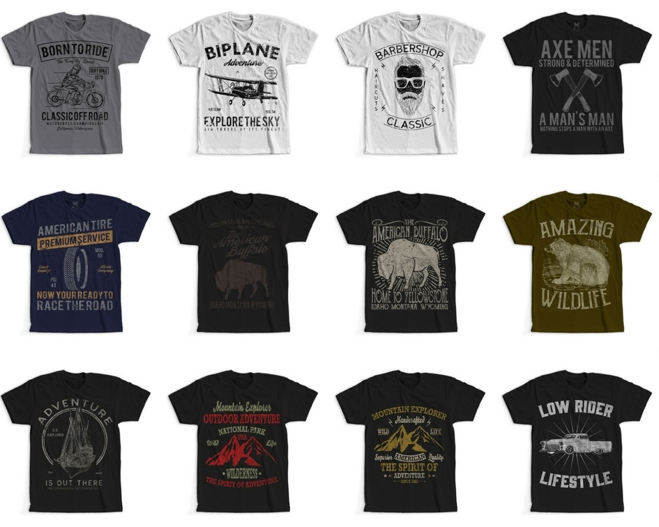 7 - 100 Retro Vintage T-Shirt Designs buy t shirt design