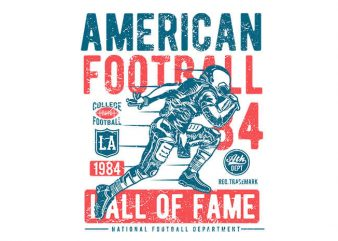 American Football vector t shirt design