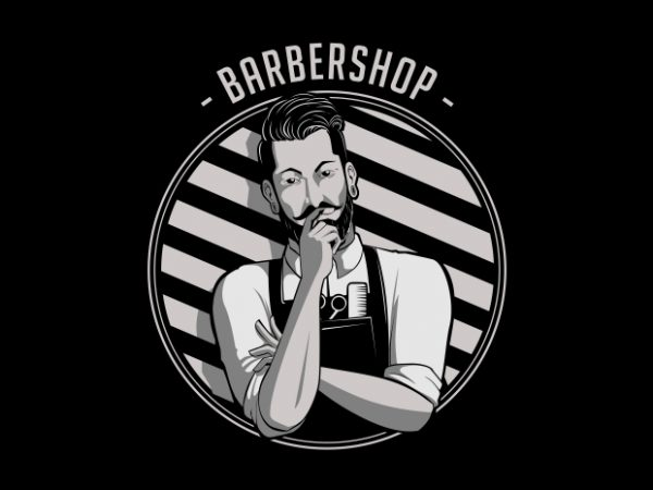 Artwork 600x450 - Barbershop T-Shirt Design buy t shirt design