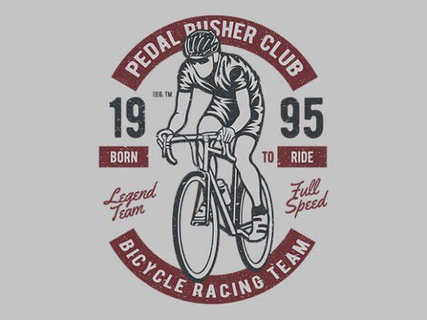 Bicycle Racing Team t shirt design