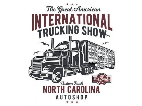 Big Truck 1 t shirt design 600x450 - Big Truck t shirt design buy t shirt design