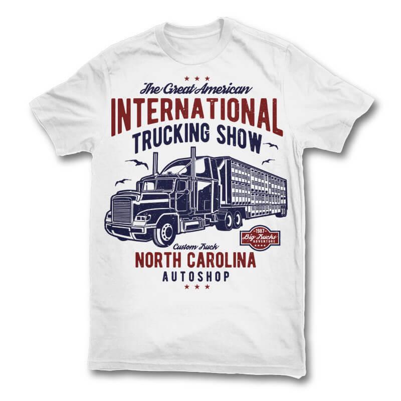 Big truck t shirt design buy t shirt designs for Buy t shirt designs online