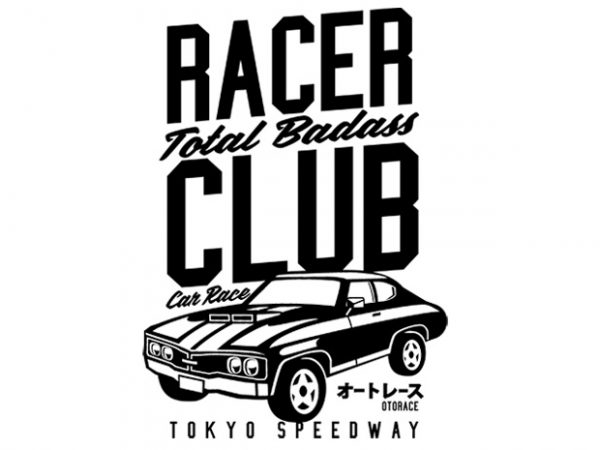 Racer Club Display 600x450 - Racer Club buy t shirt design