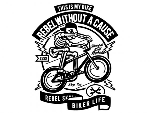 Rebel Without A Cause Display 600x450 - Rebel Without A Cause buy t shirt design