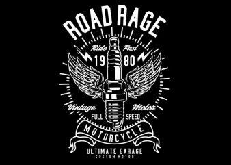 Road Rage t shirt design online