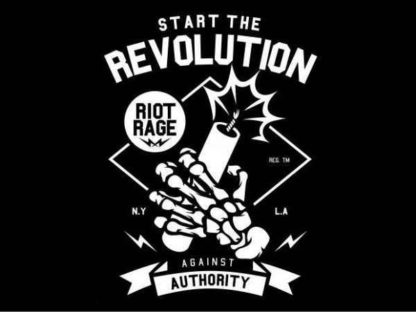 Start The Revolution Display 1 600x450 - Start The Revolution buy t shirt design