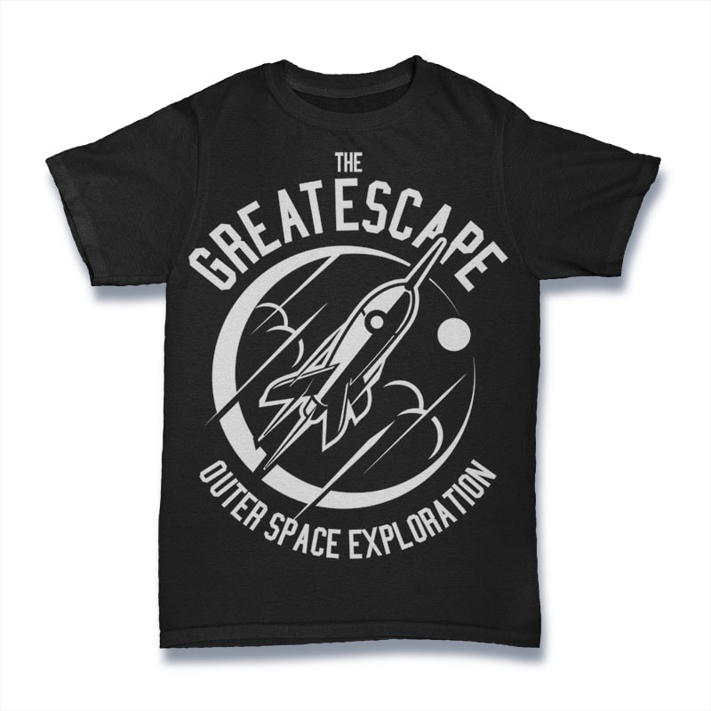 The Great Escape tshirt designs for merch by amazon
