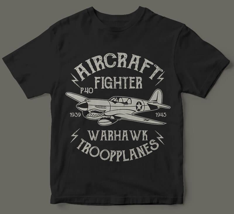Warhawk vector t shirt design vector shirt designs
