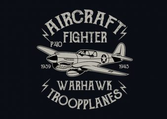 Warhawk vector t shirt design