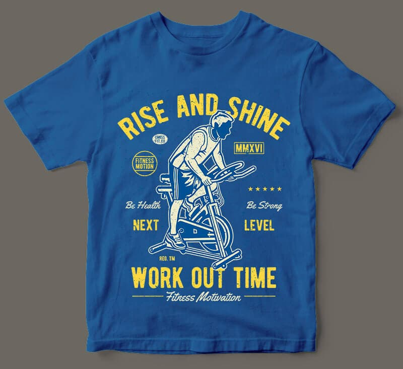Work Out Time vector t shirt design - Work Out Time vector t shirt design buy t shirt design