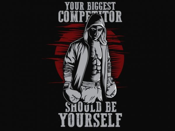 Your Biggest Competitor 600x450 - Your Biggest Competitor buy t shirt design