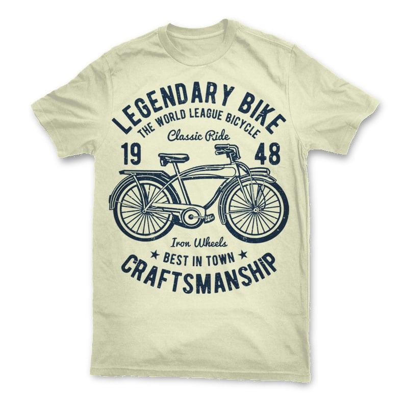 Classic bicycle t shirt design buy t shirt designs for Buy t shirt designs online