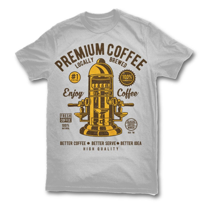 Classic Coffee Maker Buy T Shirt Designs