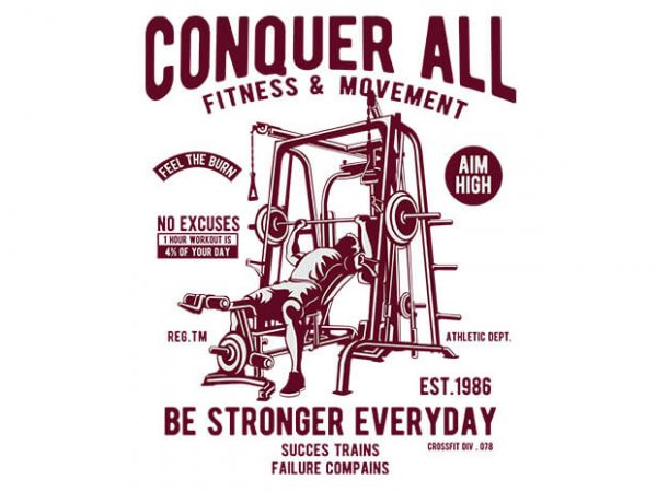 Conquer All 600x450 - Conquer All buy t shirt design