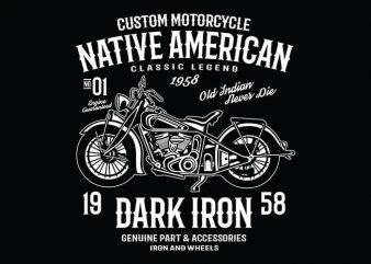 Dark Iron t shirt design