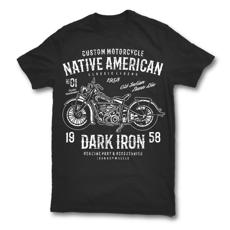 Dark iron t shirt design buy t shirt designs for Buy t shirt designs online