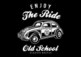 Enjoy The Ride t shirt design