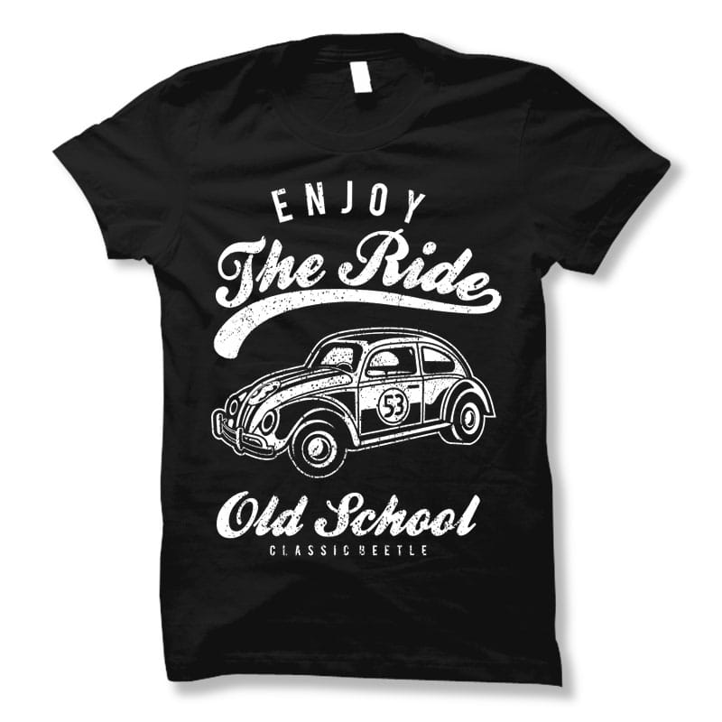 Enjoy the ride t shirt design buy t shirt designs for Buy t shirt designs online