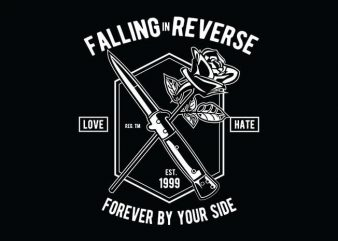 Falling In Reverse t shirt design