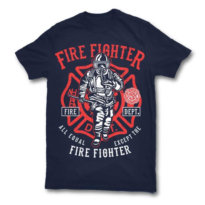 Fire fighter t shirt design buy t shirt designs for Buy t shirt designs online
