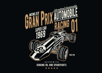 Formula 1 t shirt design