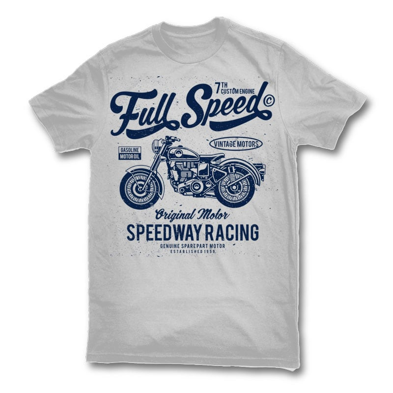 Full speed t shirt design buy t shirt designs for Buy t shirt designs online