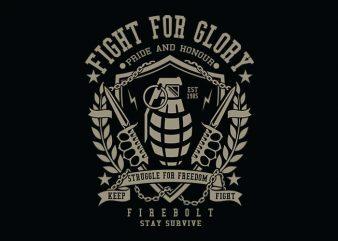 Grenade t shirt design