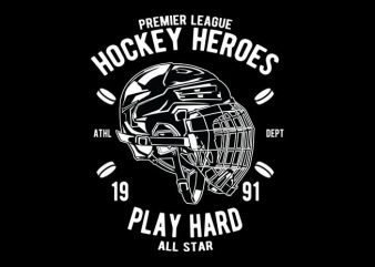 Hockey Heroes tshirt design