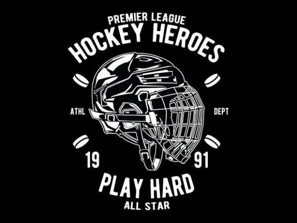 Hockey Heroes 600x450 - Hockey Heroes tshirt design buy t shirt design