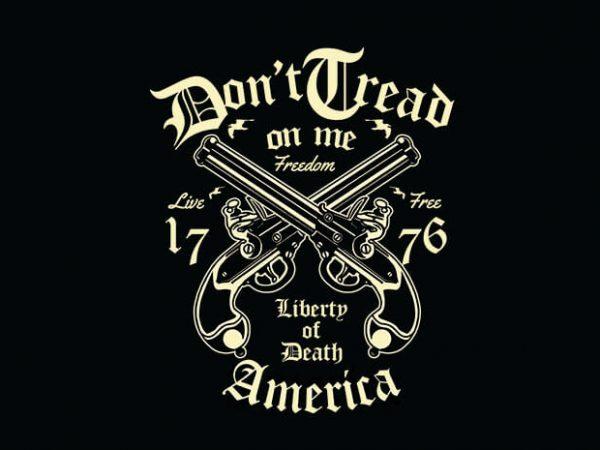 Liberty Of Death t shirt design