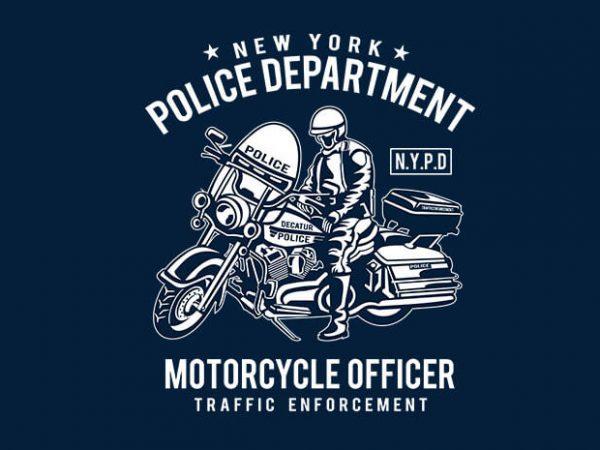 N Y P D t shirt design