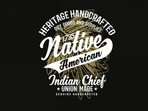 Native American 1 2 600x450 - Native American 2 t shirt design buy t shirt design
