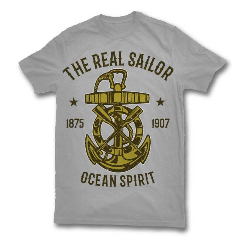 Ocean spirit t shirt design buy t shirt designs for Spirit t shirt ideas