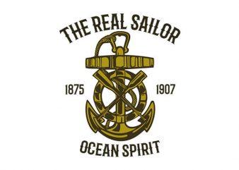 Ocean Spirit t shirt design