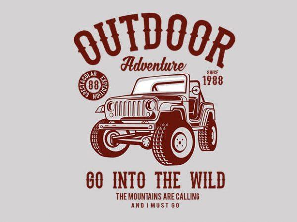 Outdoor Adventure 2 600x450 - Outdoor Adventure 2 t shirt design buy t shirt design