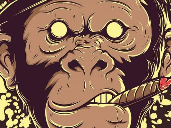 Mafia Monkey t shirt designs for sale
