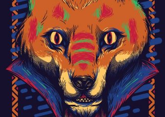 Voodoo Fox buy t shirt design
