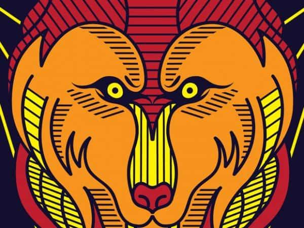 Wild Wolves t shirt design png