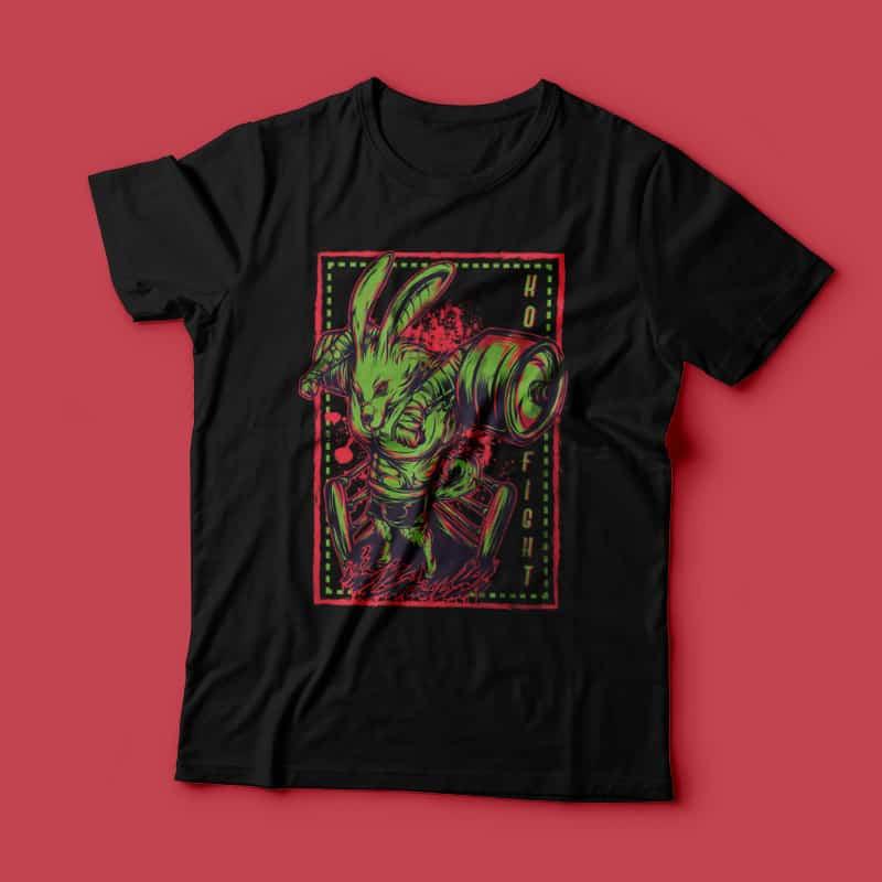 K.O Fight buy t shirt designs artwork