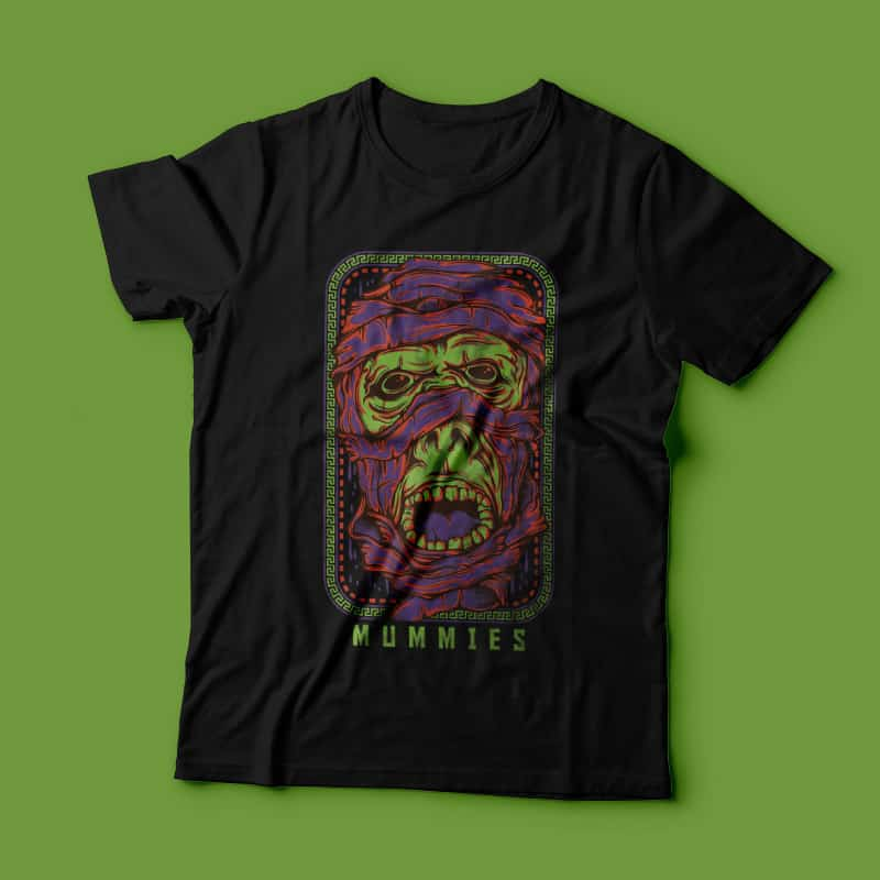 The Mummi buy t shirt designs artwork