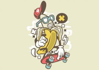 Banana vector t-shirt design