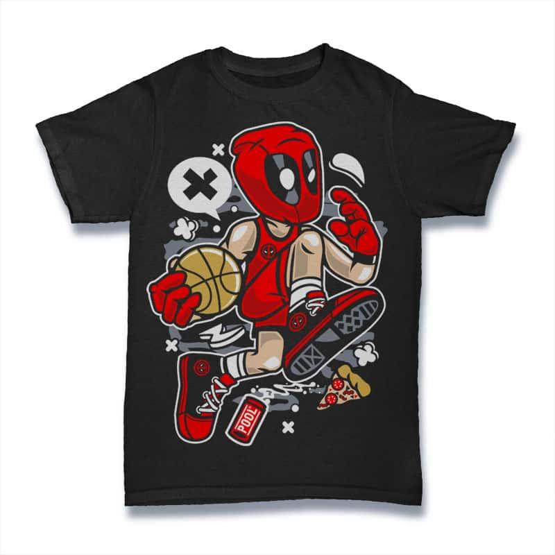 Deadpool Basketball buy t shirt designs artwork