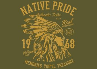 Native Pride Tshirt design