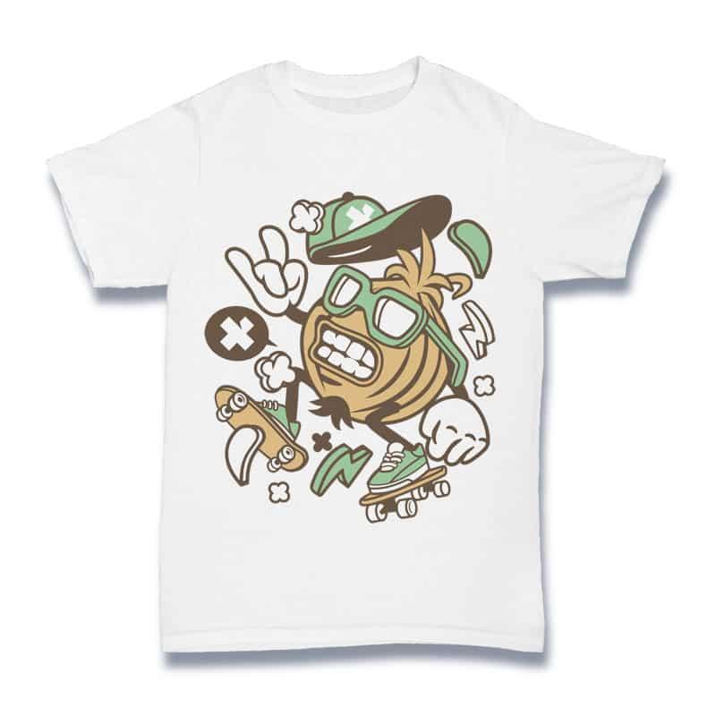 Onion Skater t shirt design png