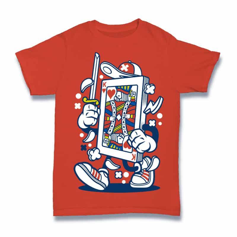 Playing Card t shirt design png
