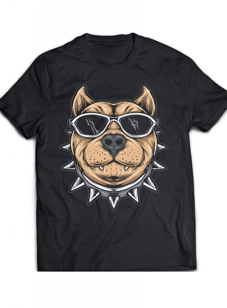 Funky Dog buy tshirt design