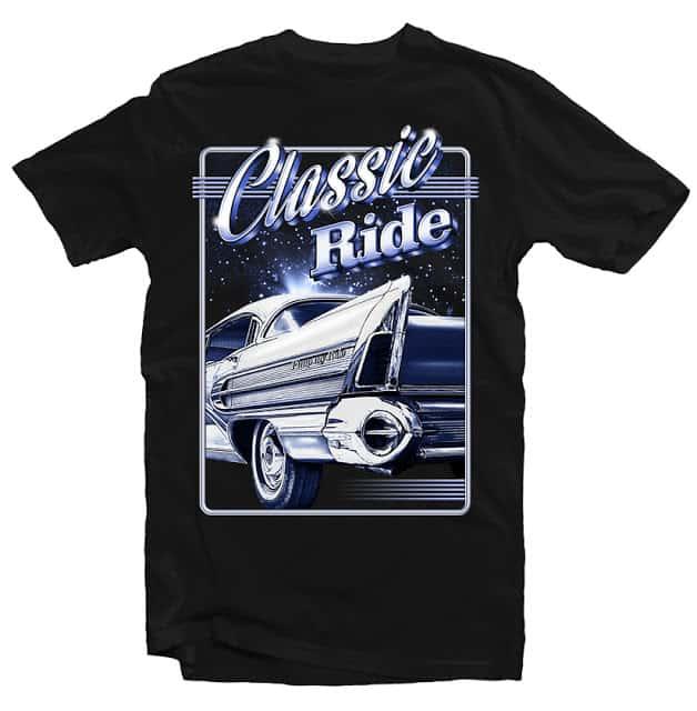 Classic Ride buy tshirt design